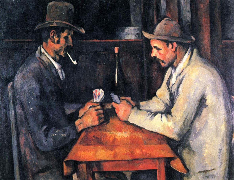 Поль Сезанн «Игроки в карты»