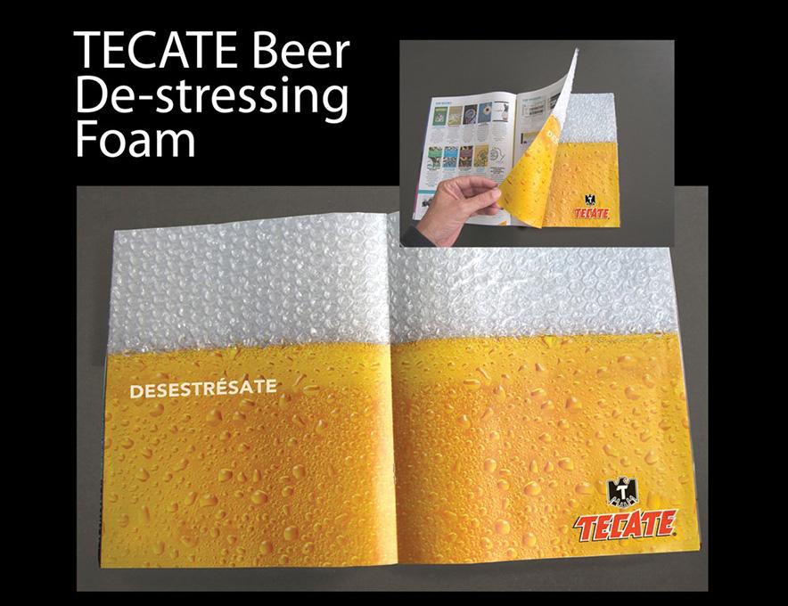 Tecate-Beer-De-stressing-Foam11