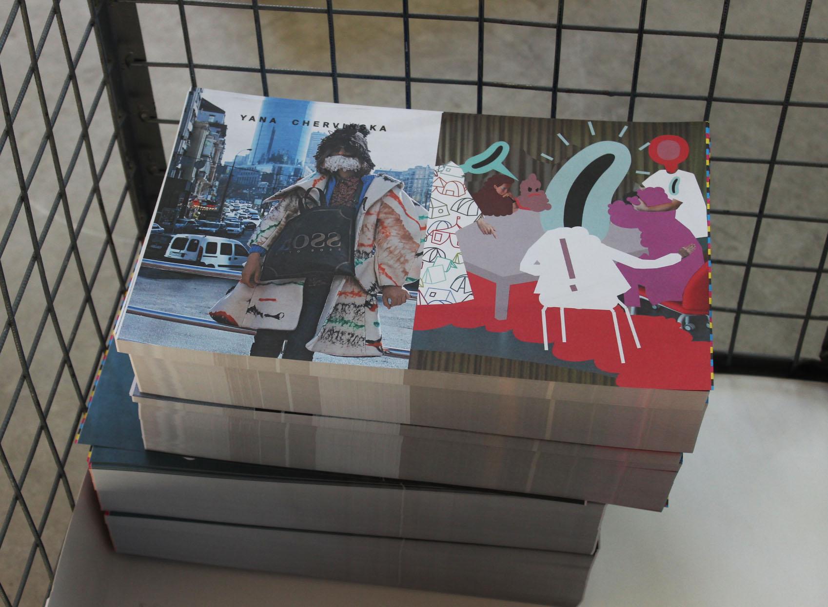 Печать каталога Fanzine Kyiv