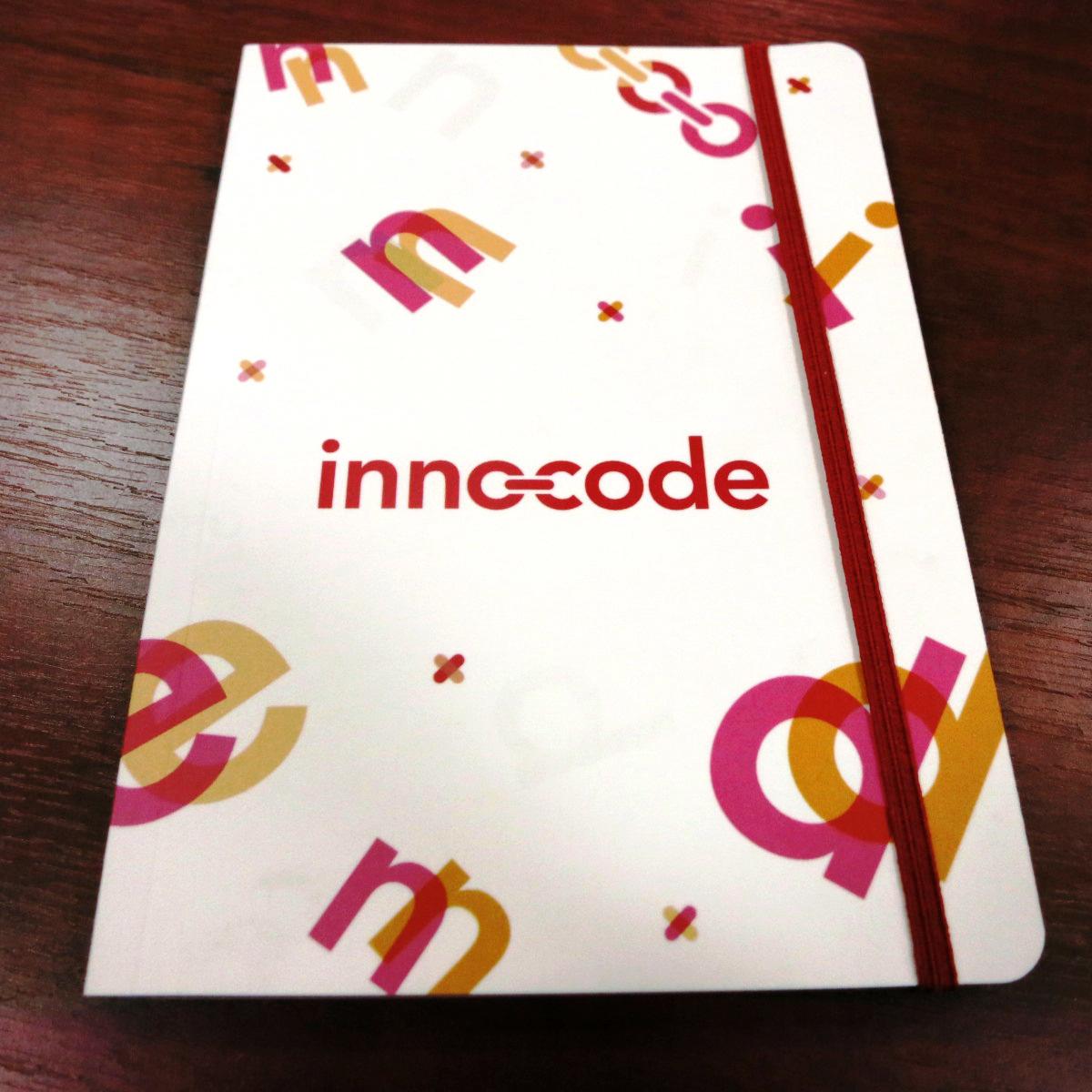 Блокноты Innocode, фамильная типография huss