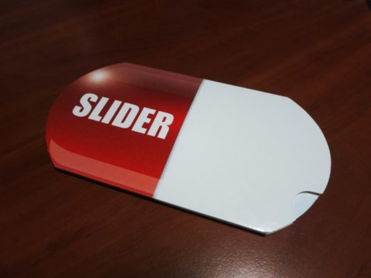 Изготовление буклетов Slider | Типография Huss
