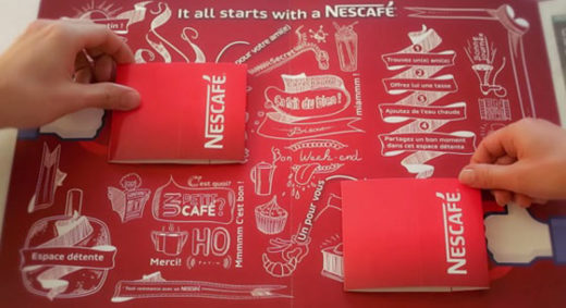 Nescafe Pop-Up cafe