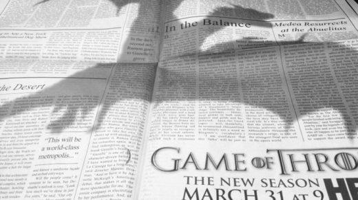"""19. Дракон из """"Game Of Thrones"""""""
