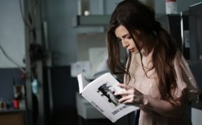 Фотосессия Христины Соловий в типографии Huss для журнала Marie Claire и издательства ArtHuss