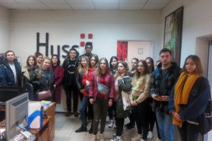 Гости типографии huss, НПУ им М.П. Драгоманова.