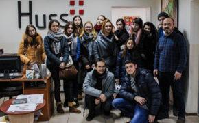Гости типографии Huss
