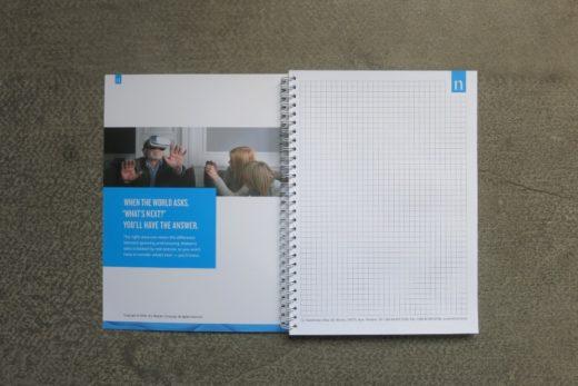 Блокноты Nielsen. Печать блокнотов по Киеву и Украине | Типография Huss