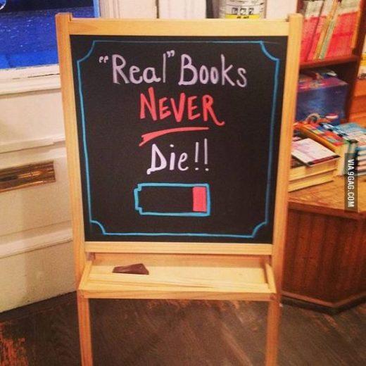 Книги не «умирают»