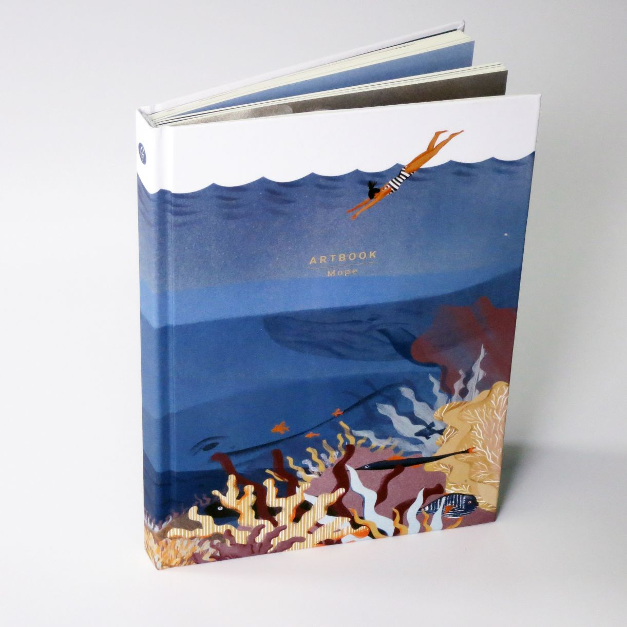 Блокнот-артбук «Море»