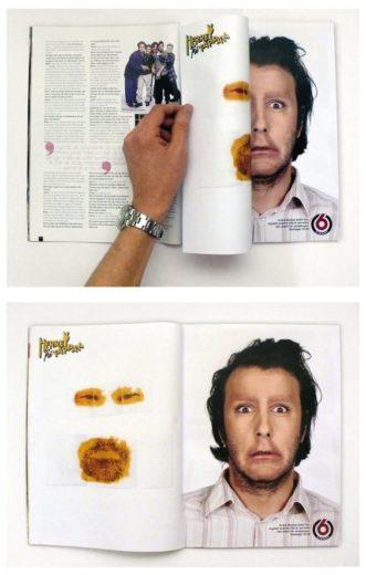 Примеры рекламной полиграфии
