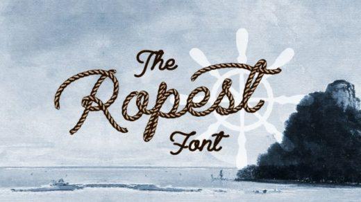 Шрифт «Ropest»