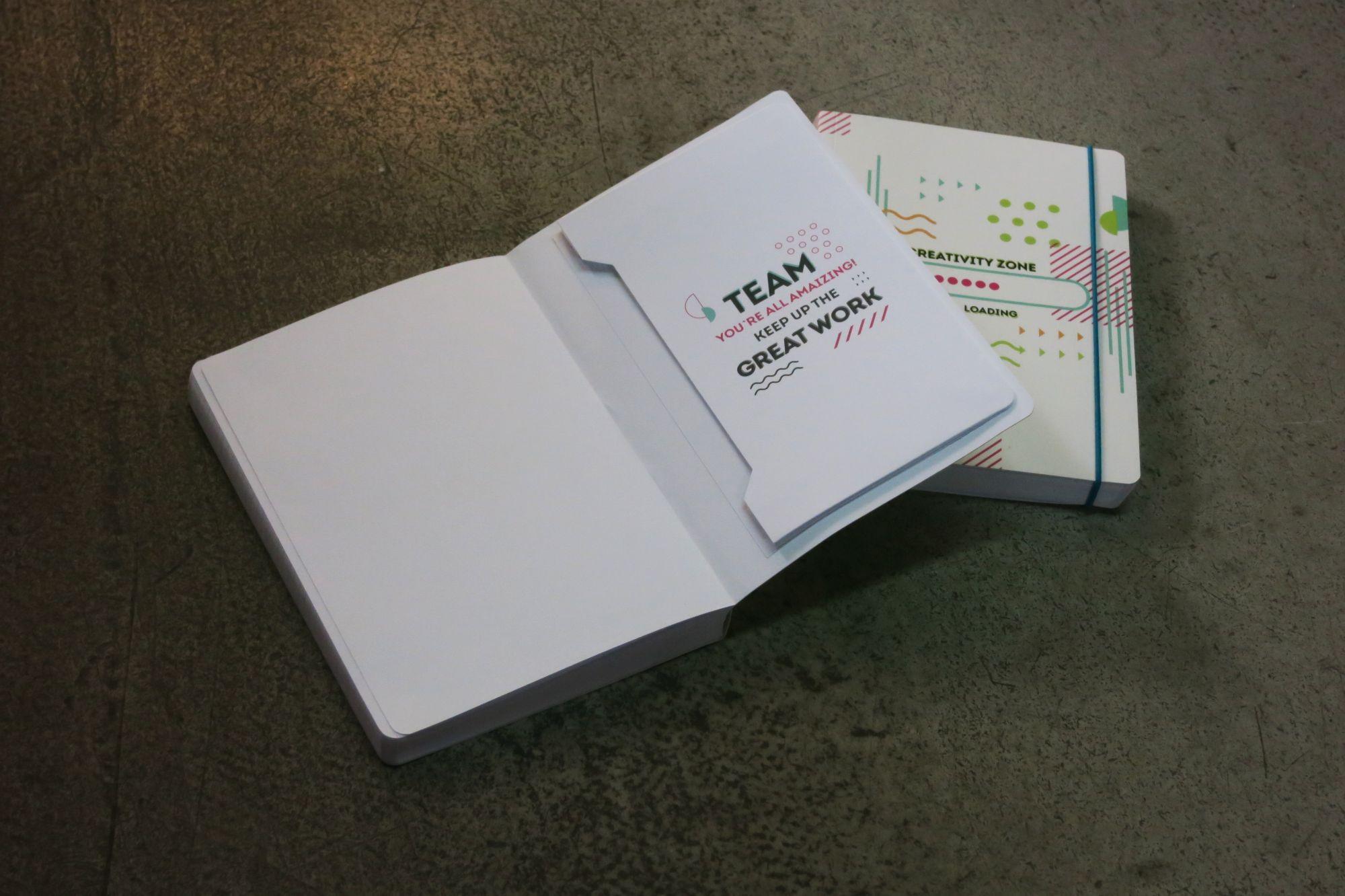 блокноты с конвертами