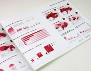 Печать годовых отчетов в типографии