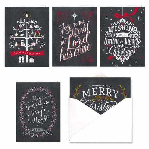Идеи для интересных новогодних открыток