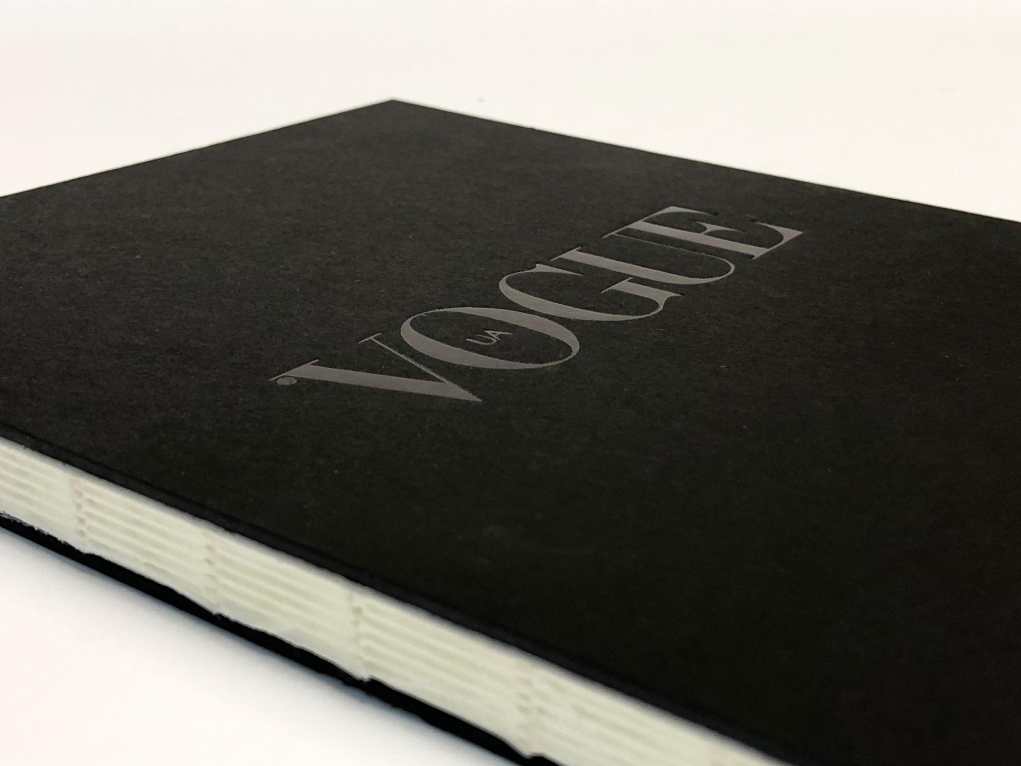 Блокноты для журнала Vogue Ukraine