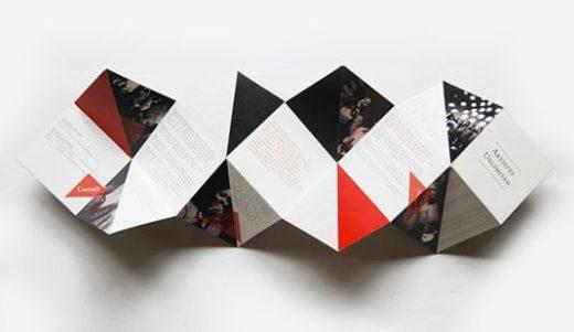 Брошюры от Khyati Trehan для Artistes Unlimited