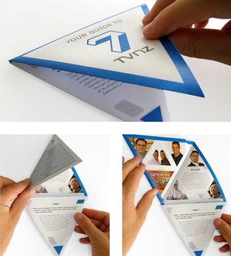 Нестандартные формы брошюр