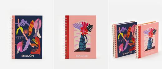 Стильний дизайн блокнотів на пружині