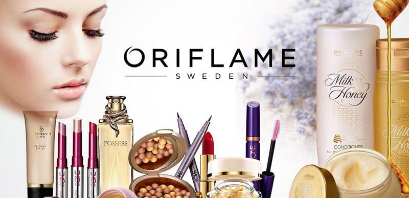 Потріть сторінку: каталоги Oriflame