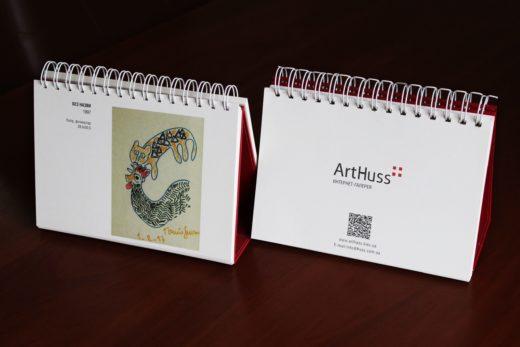 Популярные типы напечатанных календарей: настольные
