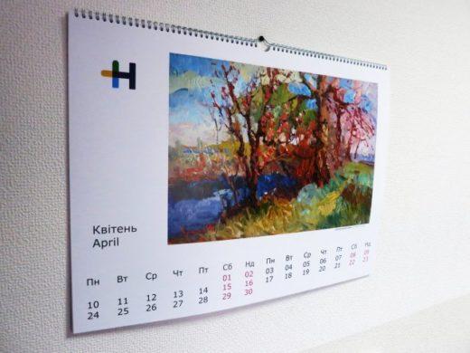 Популярные типы напечатанных календарей