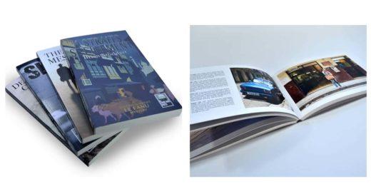 типы креплений для книг, каталогов и блокнотов - мягкая обложка