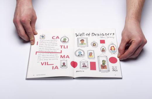 Как оформить каталог с открытым корешком