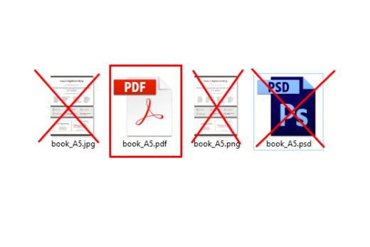 Неправильний формат файлу фінального макету